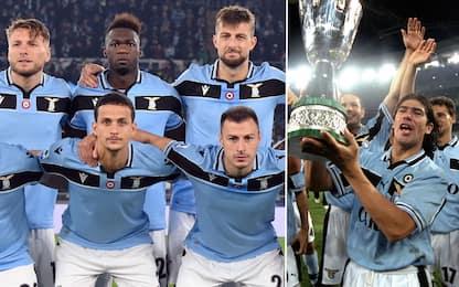 Lazio, maglia celebrativa rétro contro il Napoli