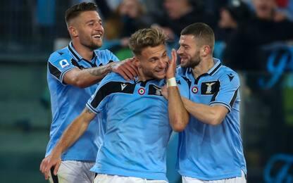Lazio record: 1-0 al Napoli e 10 vittorie di fila