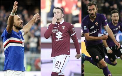 Festa Samp col Brescia, ok anche Toro e Fiorentina