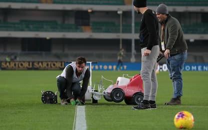 Linee non idonee: Verona-Genoa inizia 15' dopo