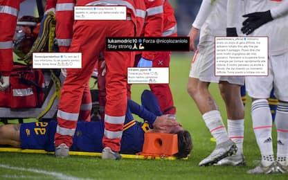 """""""Forza Nicolò!"""": quanti auguri social per Zaniolo"""