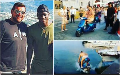 Scooter in mare per scommessa, Balo prosciolto