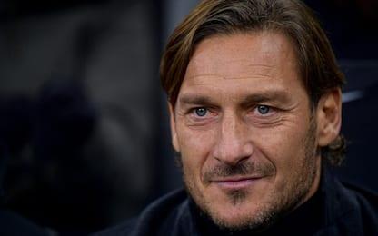"""Totti: """"Tornare alla Roma? Mai dire mai"""""""