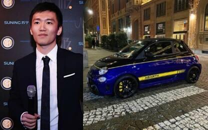 Inter, l'ultimo acquisto di Zhang: una 500 Abarth