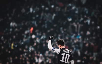 """Dybala a Del Piero: """"Potere del 10 e della fascia"""""""