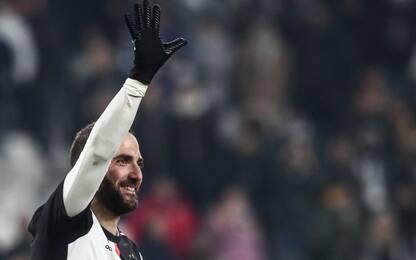 """Higuain: """"Sogno la Champions. Con Sarri do tutto"""""""