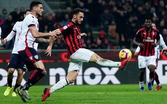 Milan vs Cagliari - Serie A TIM 2018/2019