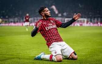 Milan vs Spal - Coppa Italia 2019/2020, Ottavi di Finale