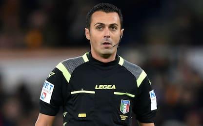 Di Bello per Juve-Parma, Lecce-Inter a Giacomelli