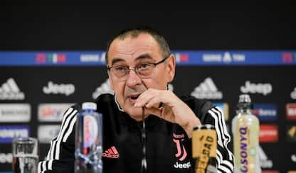 """Sarri: """"Dybala in difficoltà con CR7? Non direi"""""""
