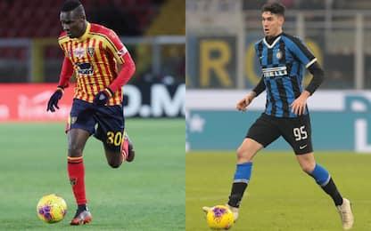 Lecce-Inter, le probabili formazioni
