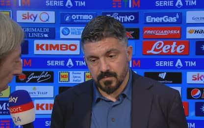 """Gattuso: """"Napoli senz'anima, toccato il fondo"""""""