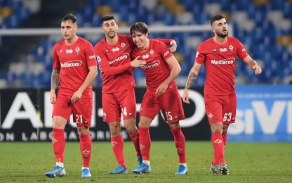 Chiesa-Vlahovic, 2-0 Viola: Napoli ancora ko