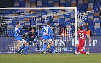 Napoli-Fiorentina 0-1 LIVE: Benassi pericoloso