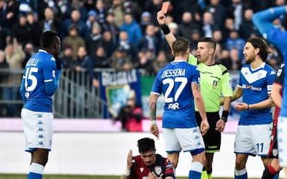 Insulti all'arbitro, Balotelli fermato per 2 turni