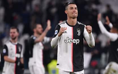 Juve, 2-1 al Parma con doppio CR7: +4 sull'Inter