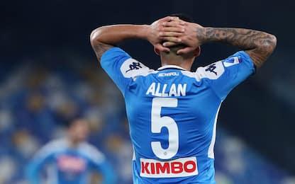 Napoli, -23 punti in un anno. Ma in Germania…