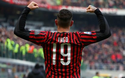 Ancora Theo! 6°gol, è lui il bomber del Milan