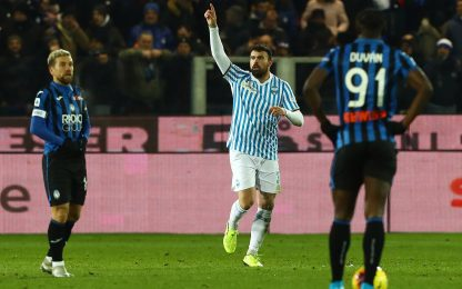 Rimonta Spal, colpo a Bergamo: 2-1 all'Atalanta