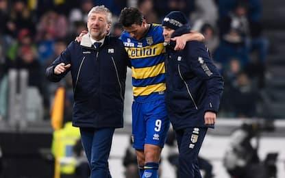 Parma, lungo stop per Inglese: lesione muscolare