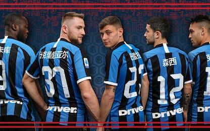 Inter, maglia speciale per Capodanno cinese. FOTO