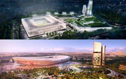 Inter-Milan: nuovi progetti per il vecchio Meazza