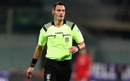 Inter-Milan a Mariani, Di Bello in Napoli-Atalanta