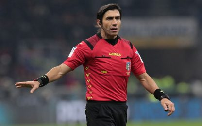 Arbitri 21^ giornata: derby di Roma a Calvarese