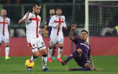 Fiorentina-Genoa 0-0 LIVE: ci prova Eysseric