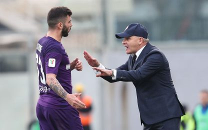 Fiorentina-Genoa 0-0 LIVE: traversa di Milenkovic