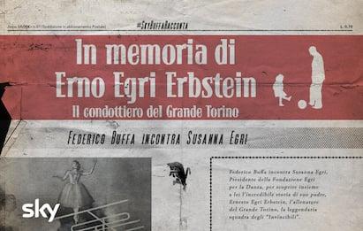 #SkyBuffaRacconta-In memoria di Erno Egri Erbstein