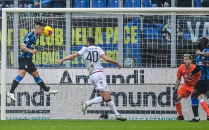 Inter-Cagliari 1-0 LIVE: Lautaro sfiora il bis