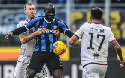 Inter-Cagliari 1-0 LIVE: ci prova Lukaku