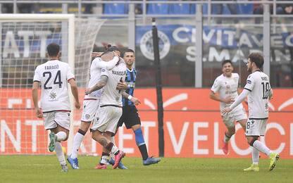 Nainggolan beffa l'Inter: 1-1 con il Cagliari