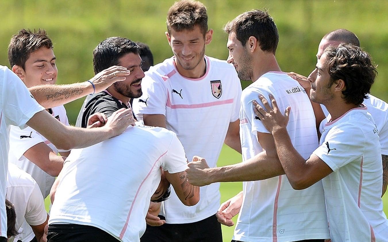 Il Palermo di Dybala e Gattuso nel 2013 in Serie B