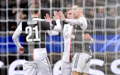 Napoli-Juve LIVE: Dybala, Higuain e CR7 titolari
