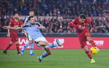 Roma-Lazio 1-1 LIVE: Acerbi-gol su papera di Lopez