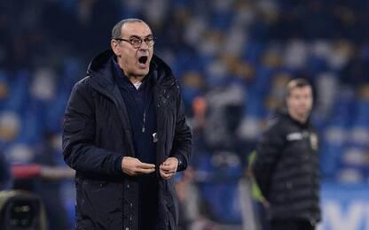 """Sarri: """"Se devo perdere meglio farlo a Napoli"""""""