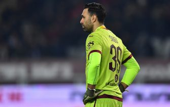 TURIN, ITALY - JANUARY 25:  Salvatore Sirigu of Atalanta BC looks dejected during the Serie A match between Torino FC and  Atalanta BC at Stadio Olimpico di Torino on January 25, 2020 in Turin, Italy.  (Photo by Valerio Pennicino/Getty Images)