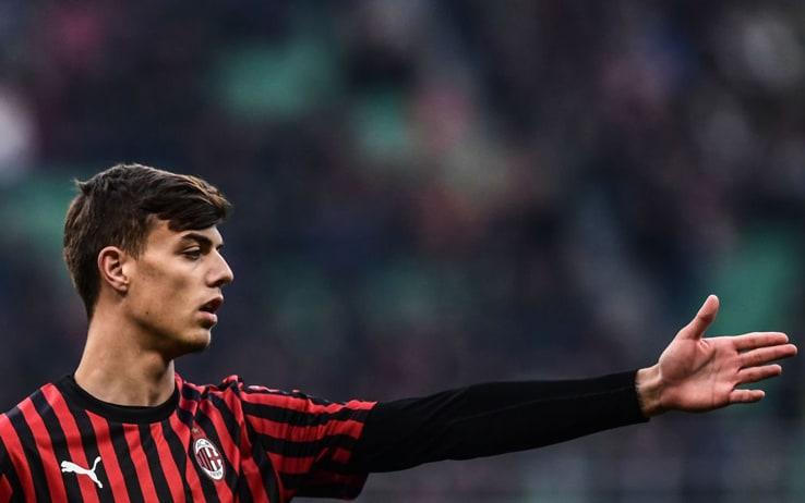 Daniel Maldini, l'esordio in Serie A con il Milan contro il Verona ...