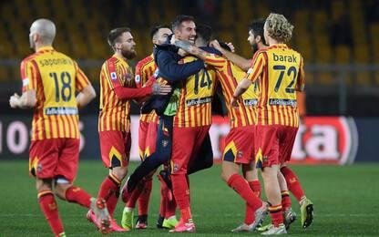 Show del Lecce, Torino sconfitto 4-0