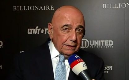"""Galliani: """"Piango ancora la cessione di Ibra"""""""