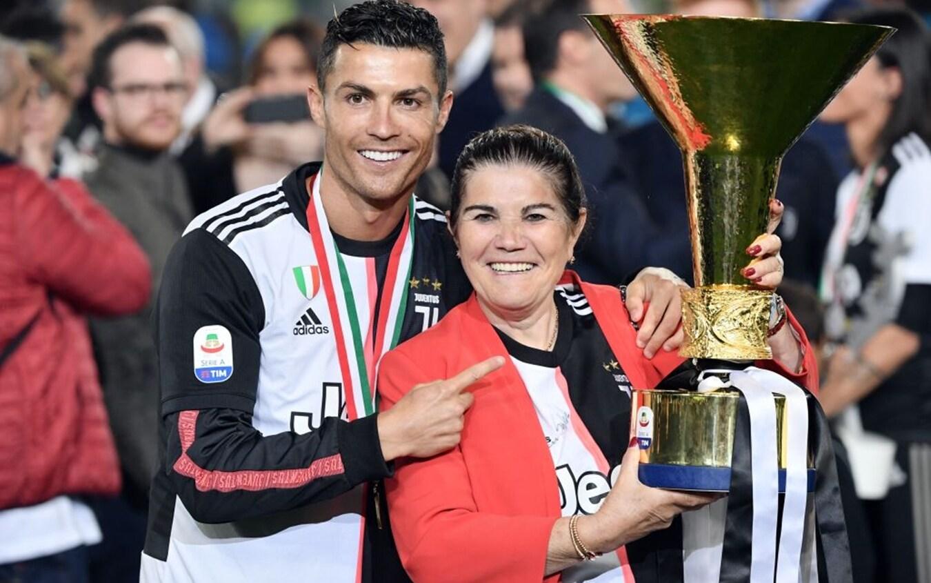 Cristiano Ronaldo e la mamma Dolores
