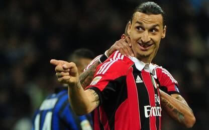 Ibrahimovic, contro l'Inter sono sempre scintille