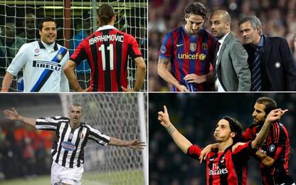 Ibra contro Inter: gol, linguacce, Pep e Mou