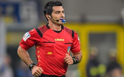 Inter-Milan a Maresca: gli arbitri della 23^ di A