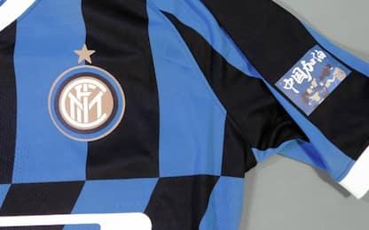 La maglia dell'Inter per il derby: dedica a Wuhan