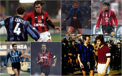 Inter-Milan, chi ha più presenze nel derby? Top 10
