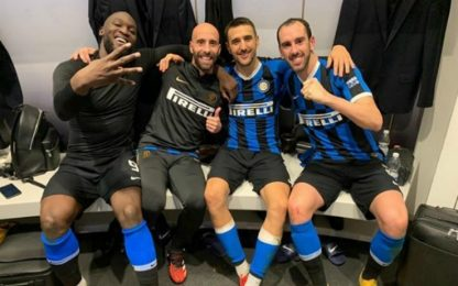 Delirio Inter, Lukaku guida la festa derby. VIDEO