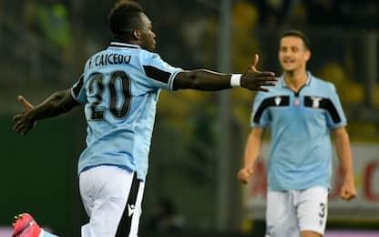 Caicedo stende il Parma: Lazio a -1 dalla vetta